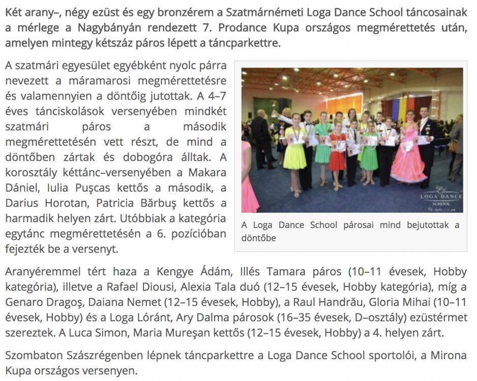 Het ermet szereztek a tanciskolasok(frissujsag.ro)