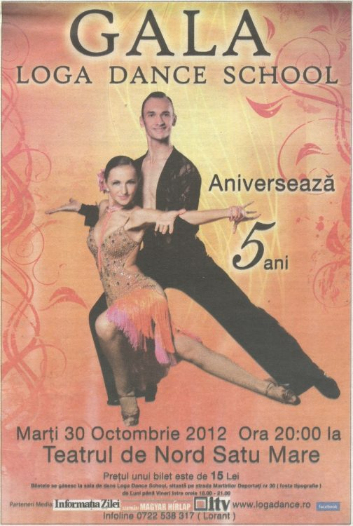 Gala Loga Dance School - Aniverseaza 5 ani (Informatia Zilei)