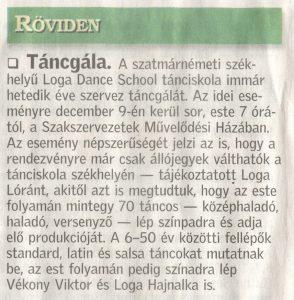 Tancgala (Friss Ujsag)
