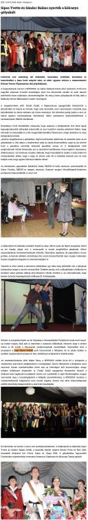 Sipos Yvette es Sandor Balazs nyertek a kolcseys golyabalt (szatmar.ro)