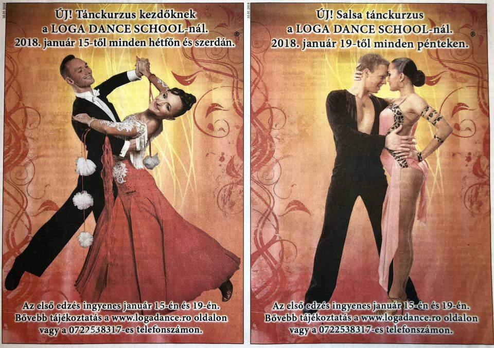 Uj! Tanckurzus kezdoknek a Loga Dance School-nal (Friss Ujsag)