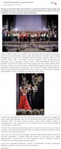 Telt haz elott unnepelt a Loga Dance School(frissujsag.ro)