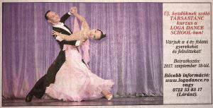 Uj, kezdoknek szolo Tarsastanc kurzus a Loga Dance School-ban! (Friss Ujsag)