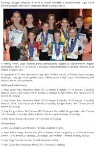 Harom versenyen leptek tancparkettre a Loga Dance School sportoloi (frissujsag.ro)