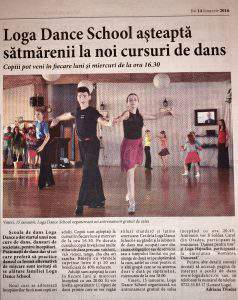 Loga Dance School asteapta satmarenii la noi cursuri de dans (Informatia Zilei)