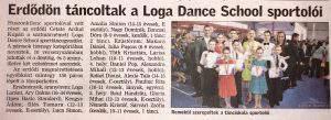 Erdodon tancoltak a Loga Dance School sportoloi (Friss Ujsag)