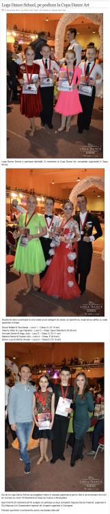 Loga Dance School, pe podium la Cupa Dance Art (gazetanord-vest.ro)