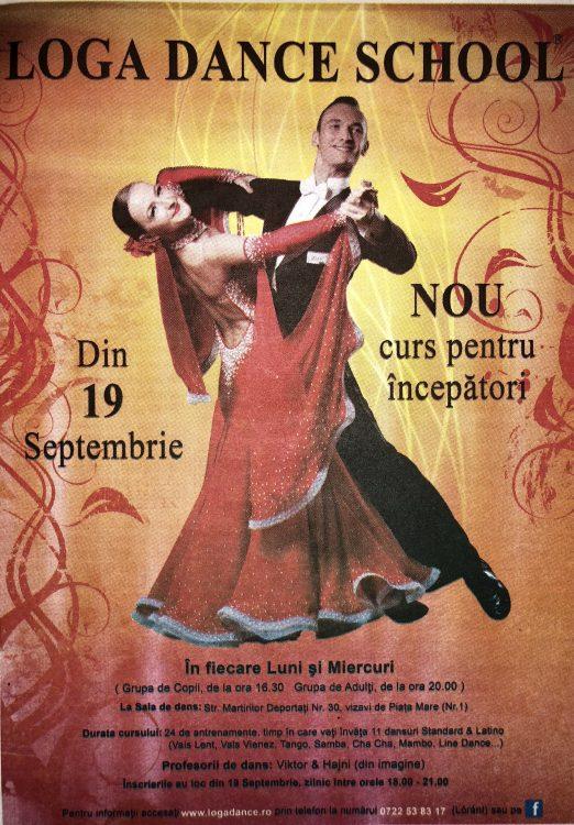Curs nou pentru incepatori laLoga Dance School (Informatia Zilei)