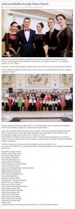 Anul recordurilor la Loga Dance School in 2018 (gazetanord-vest.ro)