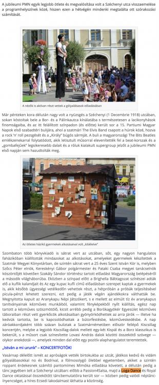 A jubileumi PMN egyik legjobb otlete es megvalositasa (frissujsag.ro)
