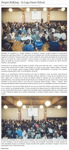 Despre Bullying – la Loga Dance School (gazetanord-vest.ro)