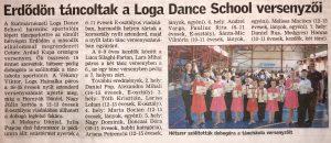 Erdodon tancoltak a Loga Dance School versenyzoi (Friss Ujsag)