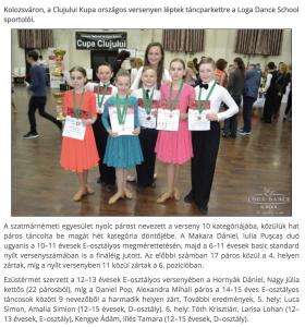 Kolozsvaron tancoltak(frissujsag.ro)