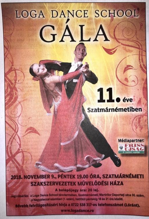 Loga Dance School Gala - 11 Eve Szatmarnemetiben (Friss Ujsag)