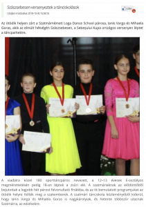 Szaszsebesen versenyeztek a tanciskolasok(frissujsag.ro)