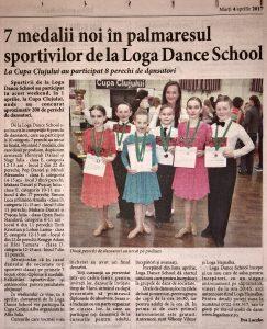 7 medalii noi in palmaresul sportivilor de la Loga Dance School (Informatia Zilei)