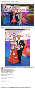 5 medalii la Cupa Latino Angels (gazetanord-vest.ro)