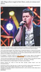 Aldo Blaga aduce magia la Satu Mare, unde-si va lansa noul album (gazetanord-vest.ro)