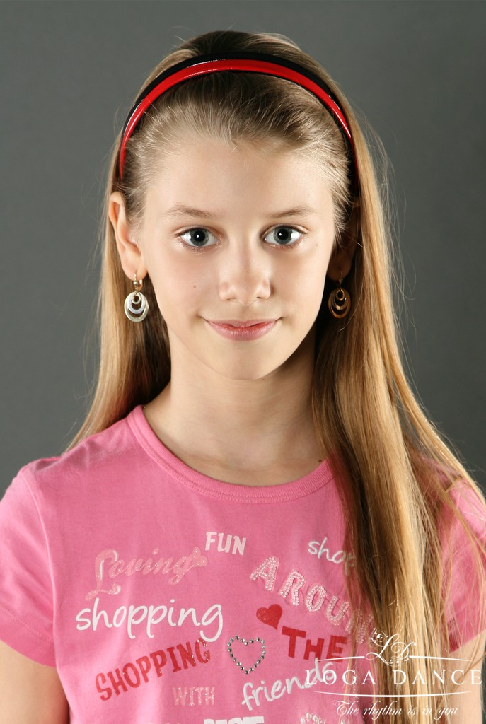 Orha Anca<BR>8 ani