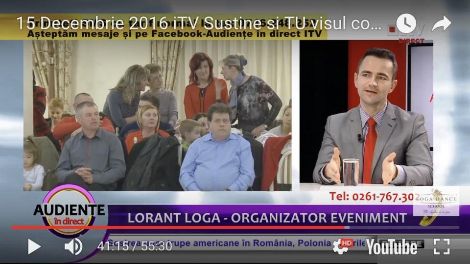 "In emisiunea ""Audiente in Direct"" vorbim despre Campania Caritabila"