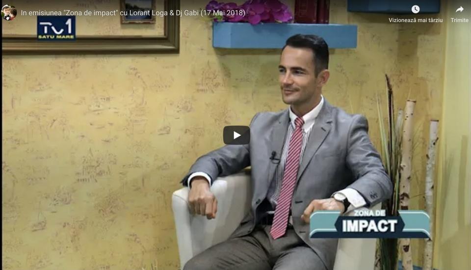 """In emisiunea """"Zona de Impact"""" cu Lorant Loga & Dj Gabi"""