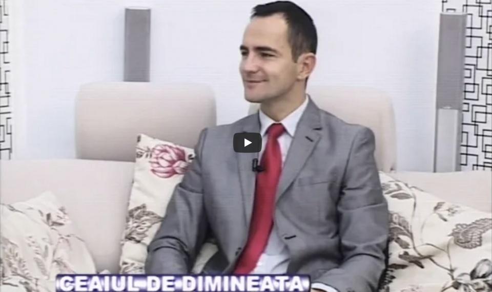 """In emisiunea """"Ceaiul de dimineata"""" cu Lorant Loga & Dj Gabi"""