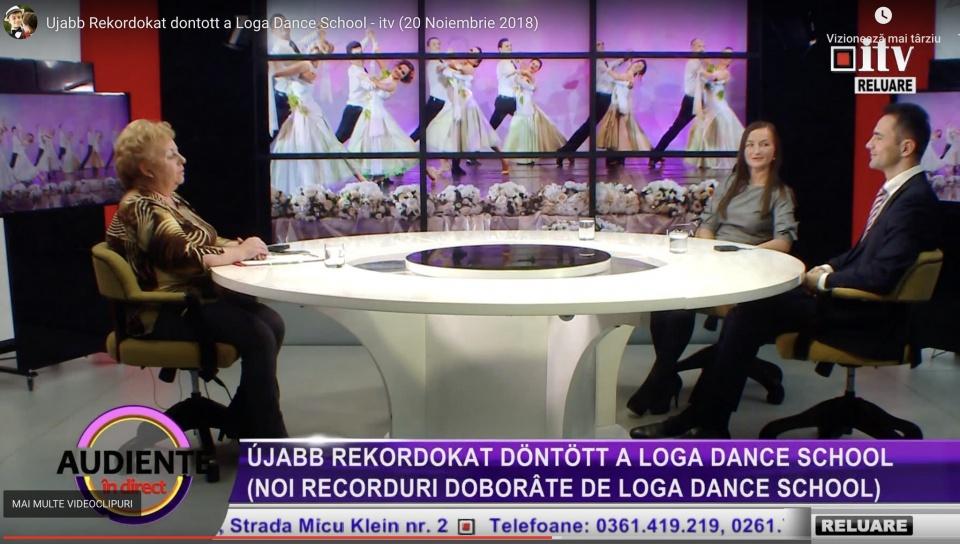 A Loga Dance School tanciskolarol szolo musorban, beszelunk az ujabb rekordokrol