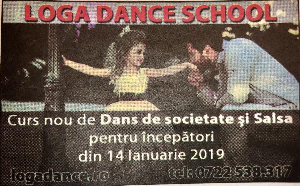 Curs nou de dans pentru incepatori la Loga Dance School (Informatia Zilei)