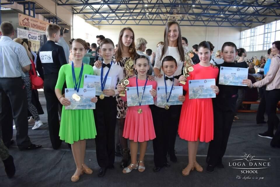 Loga Dance School la Cupa Oradea