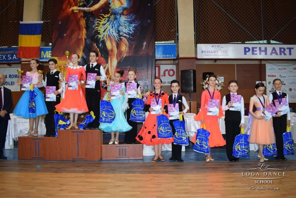 Loga Dance School la Cupa Latino Angels