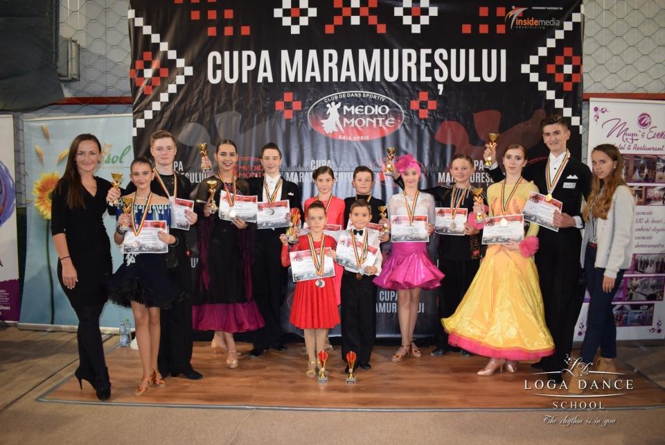 Loga Dance School la Cupa Maramuresului