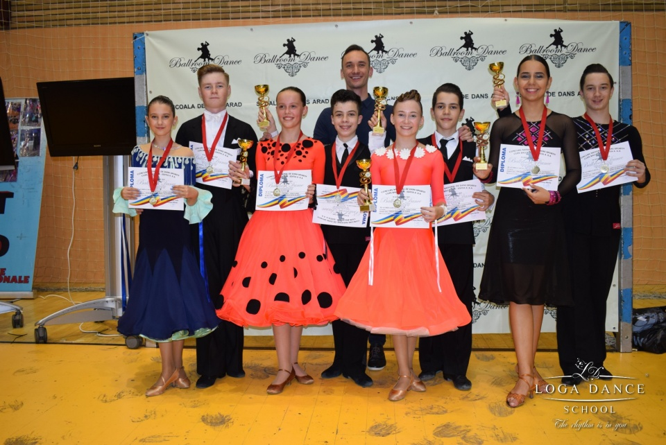 Loga Dance School la Cupa Sportim