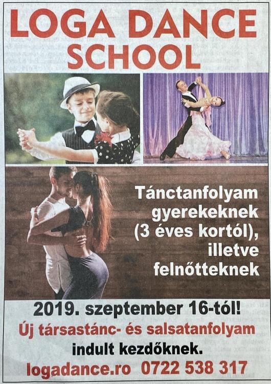 Loga Dance School Tanctanfolyam gyerekeknek. (Friss Ujsag)