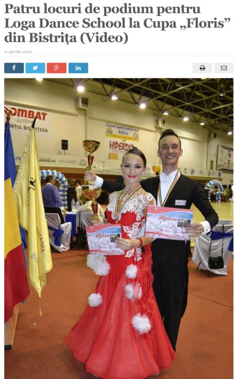 Loga Dance School la Cupa Laszlovill. (satmareanul.net)