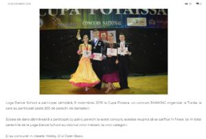 Loga Dance School a participat sambata la Cupa Potaisa! (gazetanord-vest.ro)