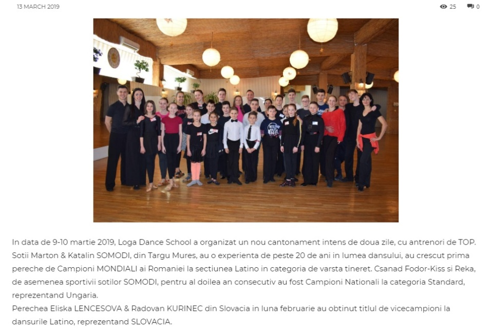 Antrenori de top invitati la Loga Dance School. (gazetanord-vest.ro)