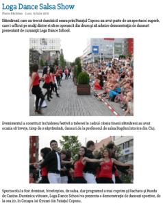 Loga Dance School - Salsa Show (satumareonline.ro)