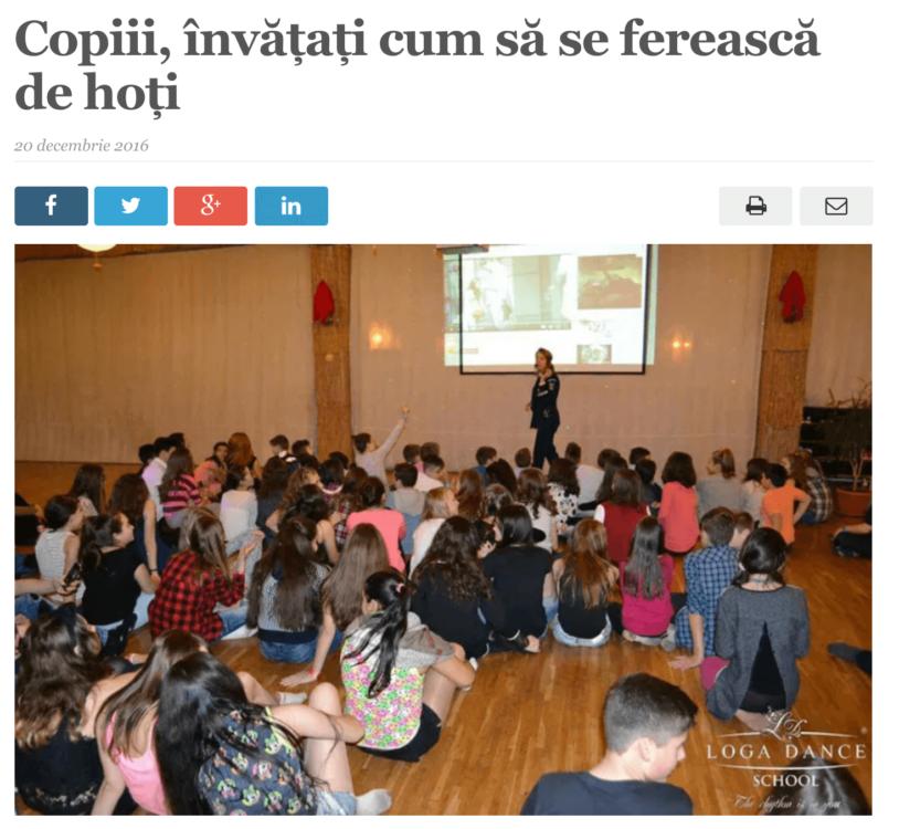 Copiii, invatati cum sa se fereasca de hoti (satmareanul.net)