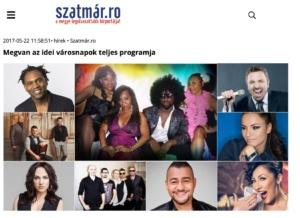 Megvan az idei varosnapok teljes programja! (szatmar.ro)