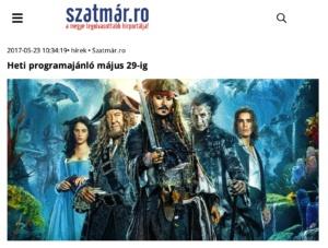 Heti programajanlo majus 29-ig! (szatmar.ro)