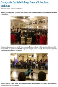 Campania Caritabila Loga Dance School s-a incheiat (satumareonline.ro)