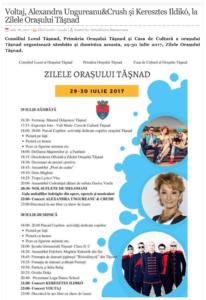 Voltaj, Alexandra Ungureanu&Crush si Keresztes Ildiko, la Zilele Orasului Tasnad! (actualitateasm.ro)