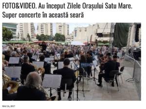 FOTO & VIDEO. Au inceput Zilele Orasului Satu Mare. Super concerte in aceasta seara (presasm.ro)