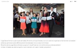 Loga Dance School la Cupa Oradea. (gazetanord-vest.ro)