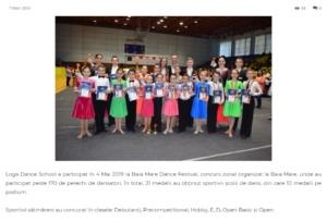 Loga Dance School a participat in 4 Mai la Baia Mare Festival. (gazetanord-vest.ro)