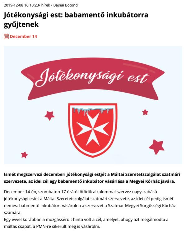 Jotekonysagi est: babamento inkubatorra gyujtenek (szatmar.ro)