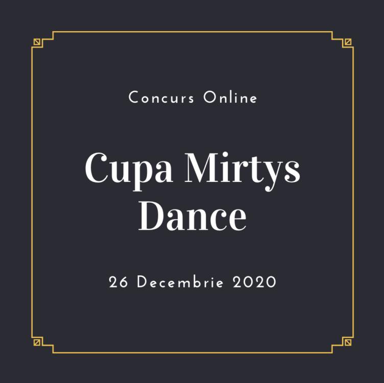 Loga Dance School la Cupa Mirtys Dance