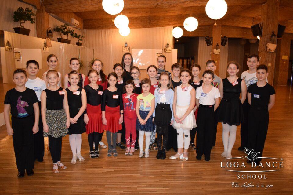 Cantonament - Grupa de Intermediari & Performanta Copii - Dans Sportiv