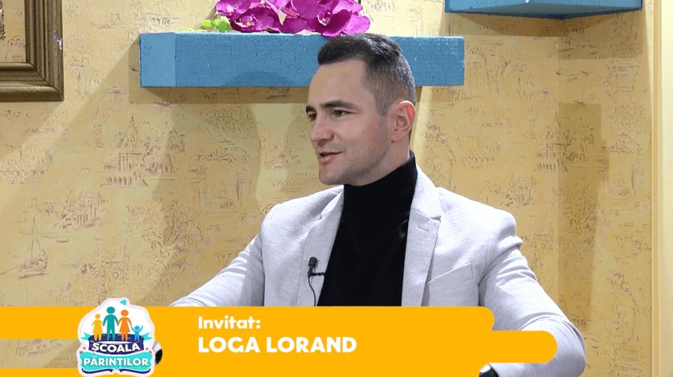 """In emisiunea """"Scoala Parintilor"""" cu Lorant Loga & Alina Chis"""